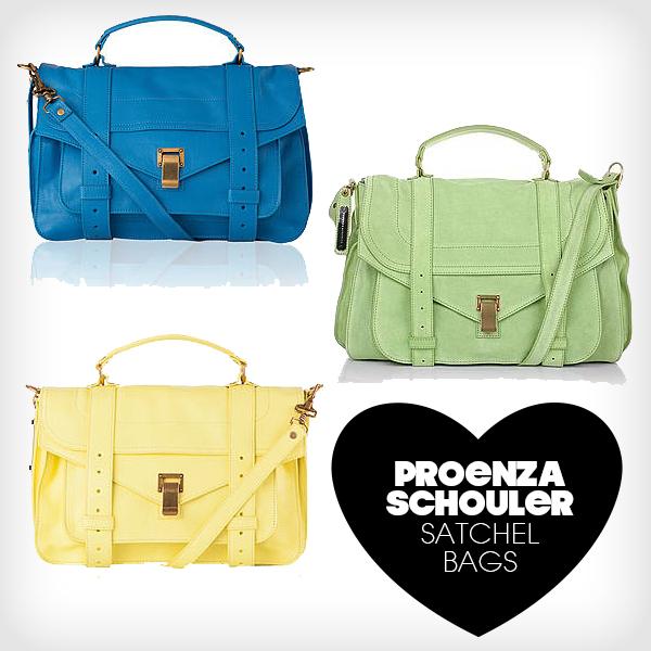 Proenza Schouler Satchel Bags