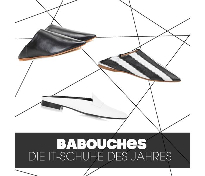 Babouches von Acne und Pierre Hardy