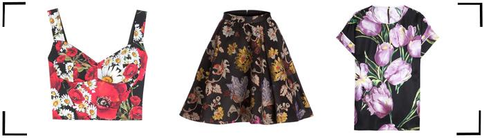 Blumenprints Kleidung