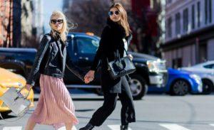 Caro Daur und Stefanie Giesinger lieben Saint Laurent Taschen