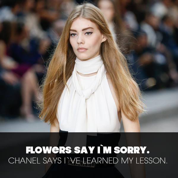 Chanel Zitat
