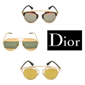 Designer Sonnenbrillen Collage