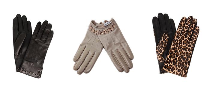 Herbstaccessoires Handschuhe
