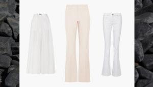 Hosen All White