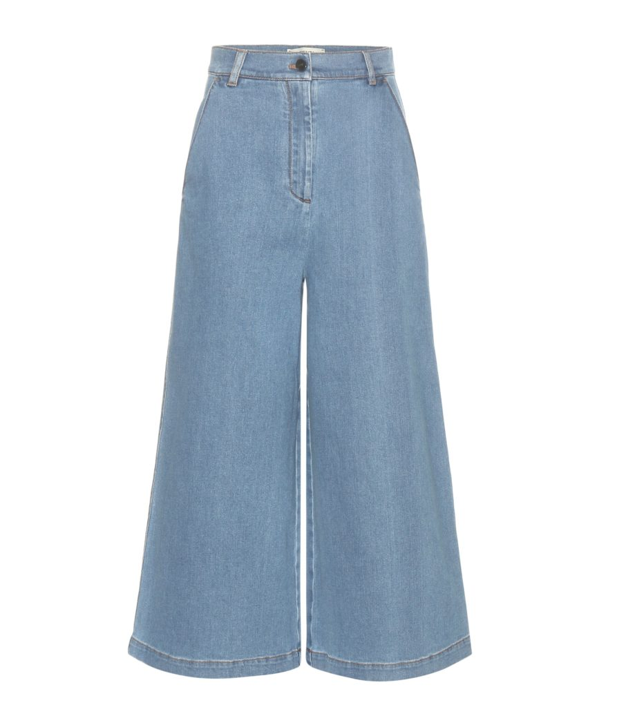 Culotte aus Denim