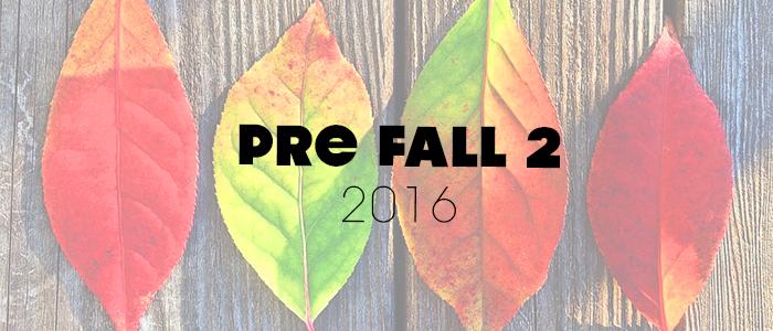 Herbstjacken Pre Fall Trends 2016