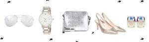 accessoires in SIilber für den All White Look