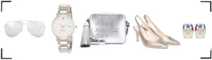 All White Silber Accessoires