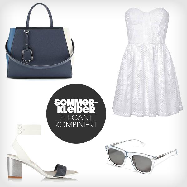 Sommerkleider Look 2014