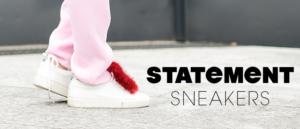 Designer Statement Sneakers