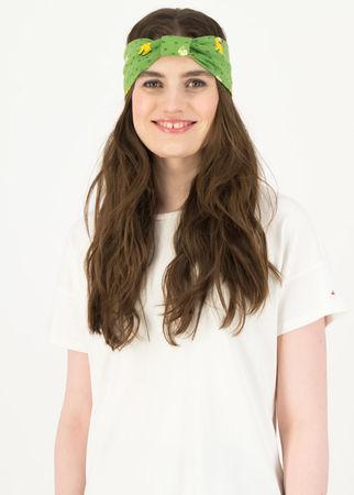 Blutsgeschwister  Haarband happy hair Grün Damen