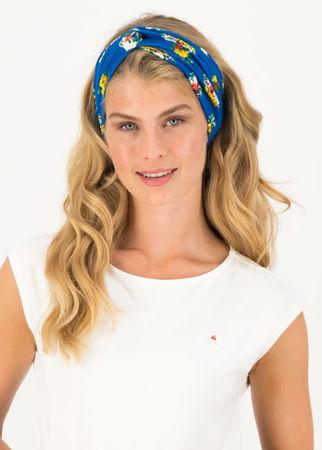 Blutsgeschwister  Haarband knot of knowledge Blau Damen
