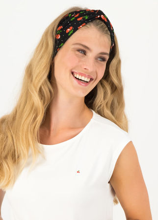 Blutsgeschwister  Haarband knot of knowledge Schwarz Damen