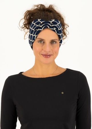 Blutsgeschwister  Haarband wild knot Blau Damen