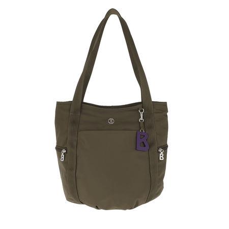 Bogner  Shopper  -  Vlexa Shopping Bag Khaki  - in grün  -  Shopper für Damen grau