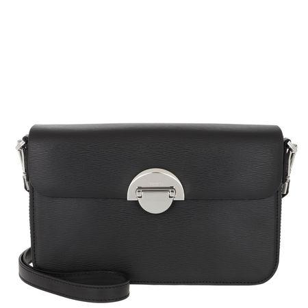 Bogner  Umhängetasche  -  Paula Shoulder Bag Black  - in schwarz  -  Umhängetasche für Damen grau