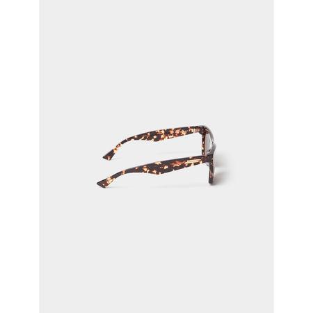 Bottega Veneta Eckige Sonnenbrille grau
