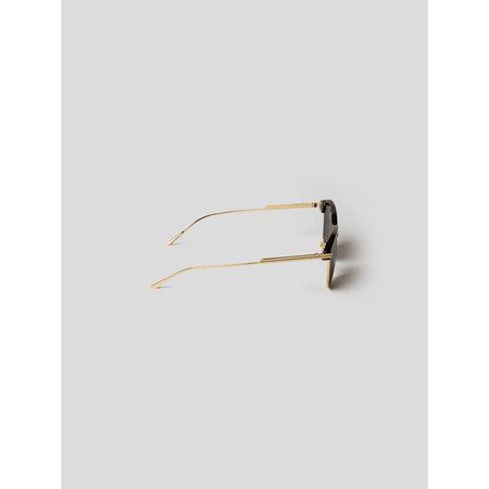 Bottega Veneta Unisex Sonnenbrille im Piloten-Stil