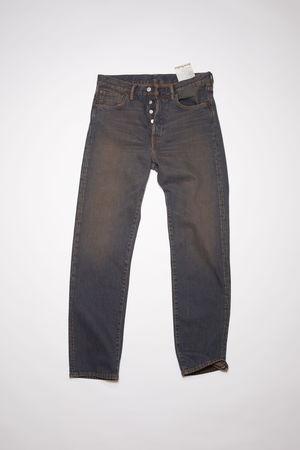 Acne Studios   1996 Clay Blue Blau/Braun Jeans in klassischer Passform