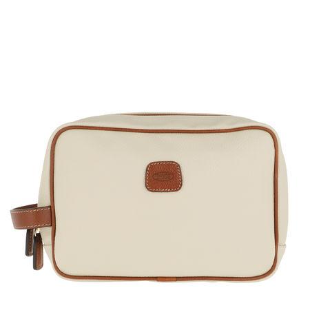 Bric's  Necessaire  -  Firenze Makeup Bag Creme  - in beige  -  Necessaire für Damen braun