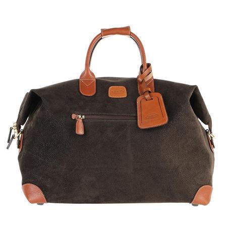 Bric's  Reisegepäck - Life Travel Bag - in grün - für Damen braun