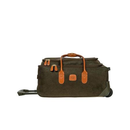 Bric's  Reisetasche  -  Life Travel Bag Olive Green  - in grün  -  Reisetasche für Damen braun