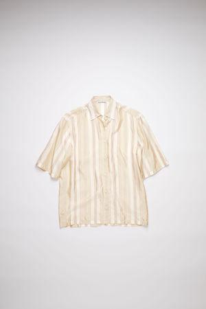 Acne Studios  FN-WN-BLOU000502 Red/brown  Striped shirt