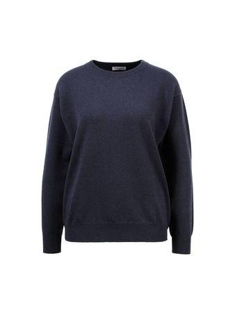 Brunello Cucinelli  - Cashmere-Pullover Blau