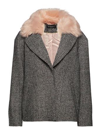 Bruuns Bazaar Arian Grace Jacket Wolljacke Jacke Grau  grau