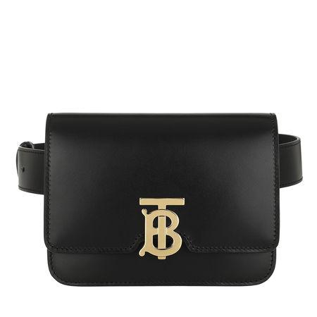Burberry  Bauchtaschen - TB Bum Bag Leather - in schwarz - für Damen schwarz
