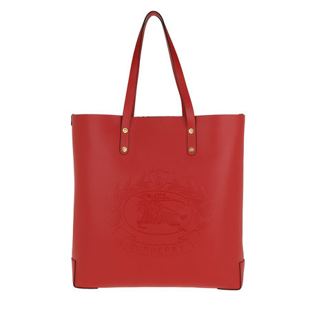 Burberry  Tote  -  LL LG Tote Leather RUST RED  - in rot  -  Tote für Damen rot