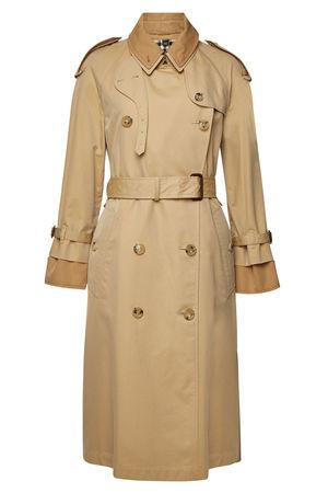 Burberry  Trenchcoat aus Baumwolle braun