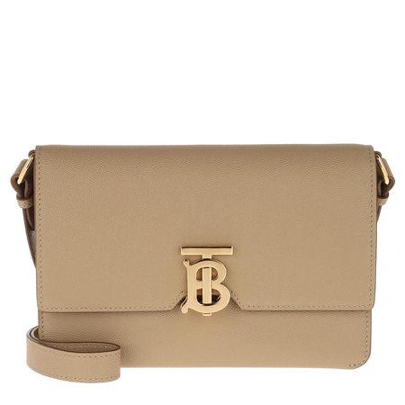 Burberry  Umhängetasche  -  TB Crossbody Bag Grained Leather Archive Beige  - in beige  -  Umhängetasche für Damen braun