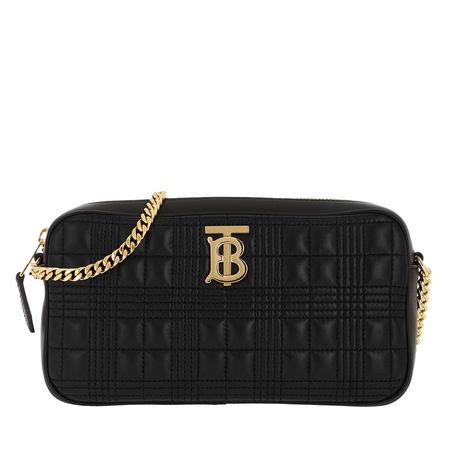 Burberry  Umhängetasche  -  TB Quilted Shoulder Bag Black  - in schwarz  -  Umhängetasche für Damen schwarz