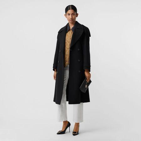 Burberry  Zweireihiger Mantel aus Wolle und Kaschmir