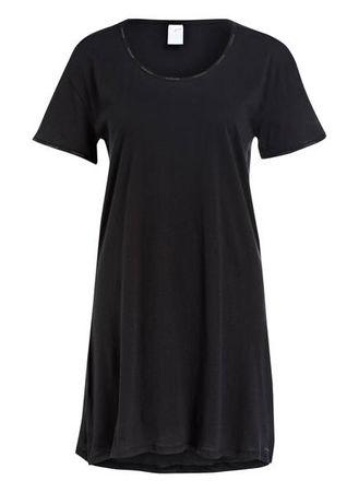 Calvin Klein  Nachthemd schwarz schwarz