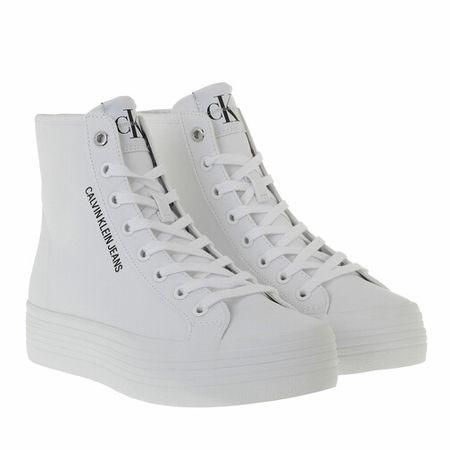 Calvin Klein  Sneakers - Vulcanized High Lace Up Sneakers - in weiß - für Damen