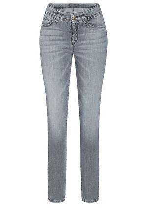 "CAMBIO  Jeans ""Parla"", Silber Damen grau"
