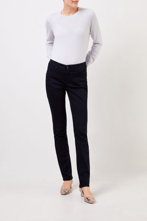 CAMBIO  - Midrise Slim-Jeans 'Parla' Blau