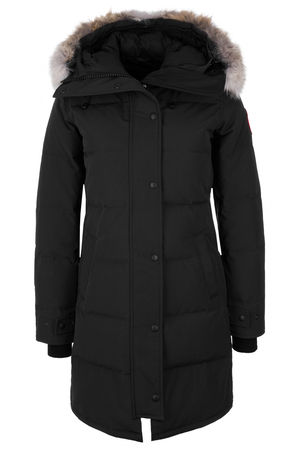Canada Goose Damen Daunenparka Shelburne Schwarz schwarz