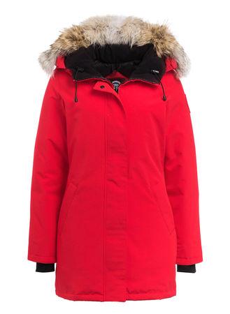 Canada Goose  Daunenparka Victoria rot pink