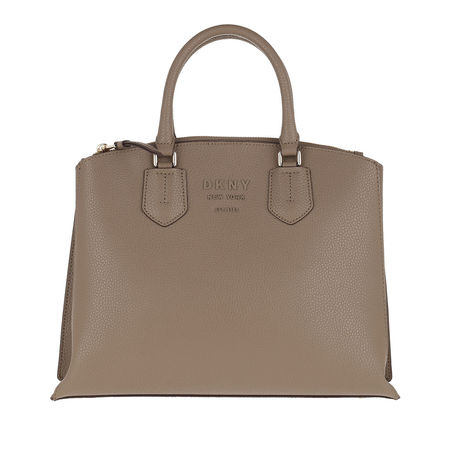 DKNY  Tote  -  Noho Large Triple Compartment Satchel Mushroom/Canyon Rose  - in beige  -  Tote für Damen braun