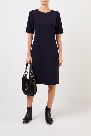 Cappellini  - Klassisches Kleid Blau