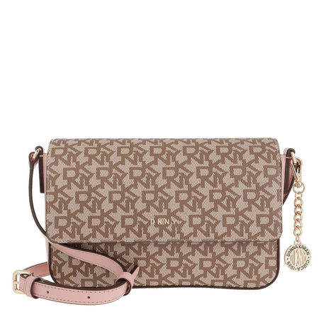 DKNY  Umhängetasche - Bryant Medium Flap Crossbody Bag Chino/Cashmere - in beige - für Damen