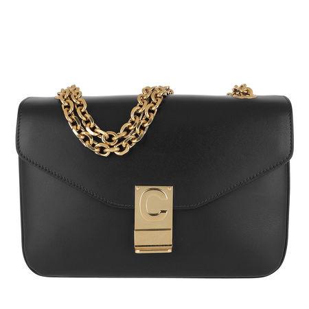 Céline Celine Crossbody Bags - C Bag Medium Calfskin - in schwarz - für Damen schwarz