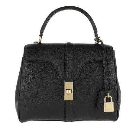 Céline Celine Satchel Bag  -  16 Bag Small Grained Leather Black  - in schwarz  -  Satchel Bag für Damen schwarz