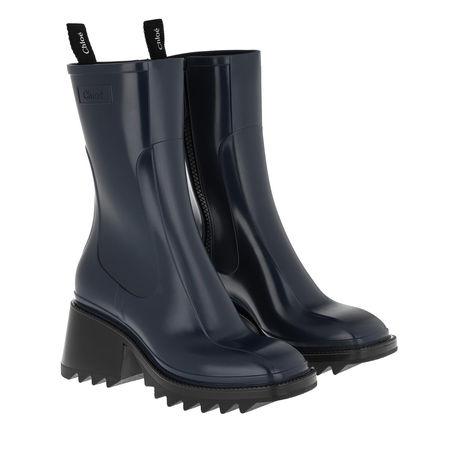 Chloé  Boots  -  Rain Boots Navy Ink  - in marine  -  Boots für Damen grau