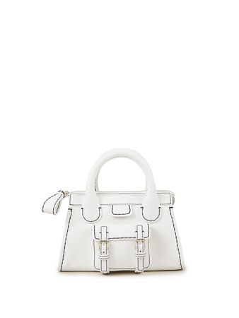 Chloé  - Handtasche 'Edith Mini' Weiß