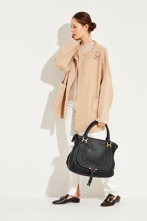 Chloé  - Handtasche 'Marcie Large' Schwarz