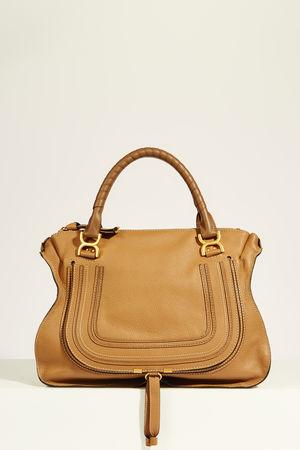 Chloé  - Handtasche 'Marcie Large XL' Nut